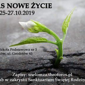 Kurs Nowe Życie w Wyszkowie 25-27.10