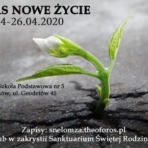 Kurs Nowe Życie 24-26.04.2020 - ODWOŁANY