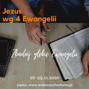 Kurs Jezus wg 4 Ewangelii Ptaki 26-29.11.2020